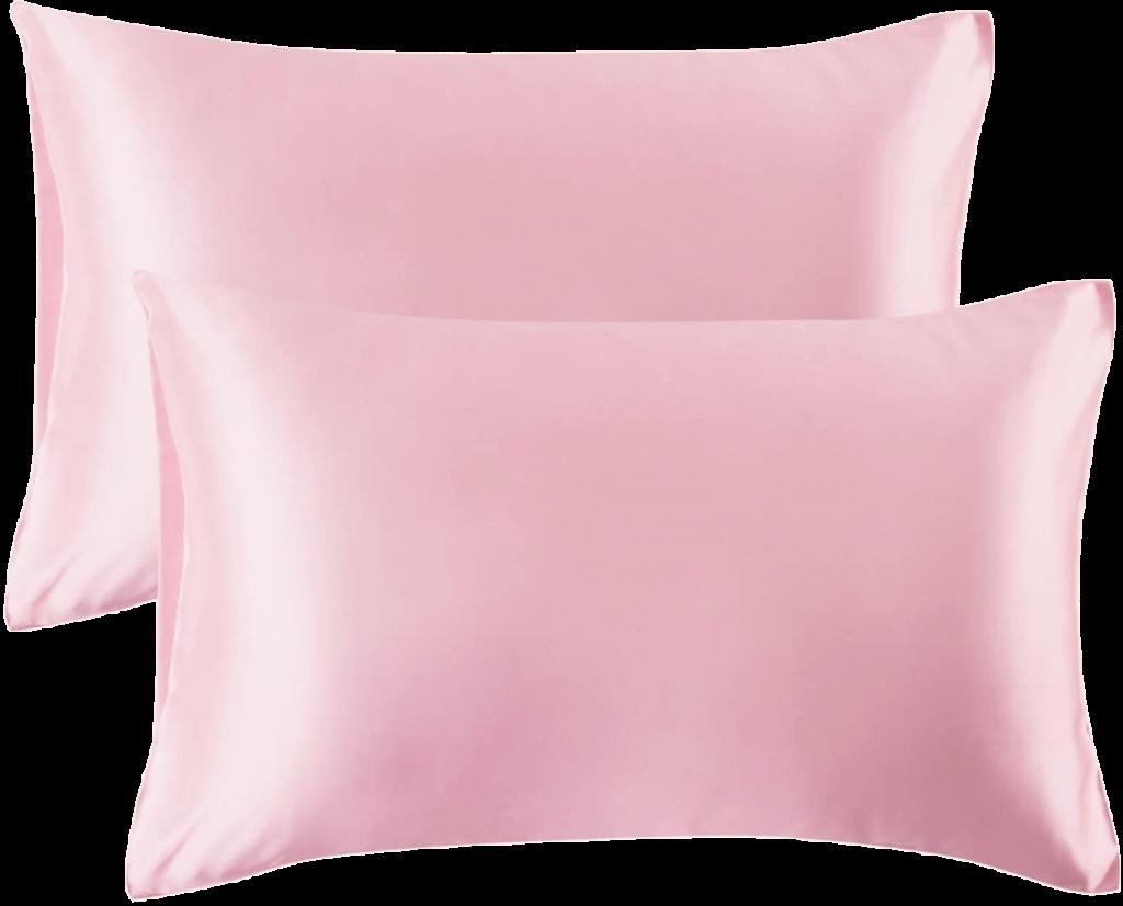 Satijnen kussensloop roze kopie