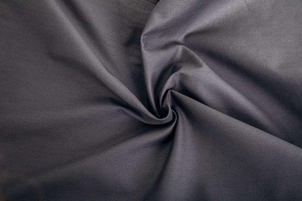 Verzwaringsdeken hoes katoen grijs zoom